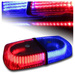 Baliza Led Estroboscopica roja y azul Emergencia 12v 24v