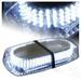 Baliza Led Estroboscopica Luz blanca Emergencia 12v 24v