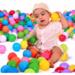Pack 100 Pelotas Plásticas De Piscina Colores Surtidos