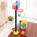 Aro Basketball Maya Inflador + Balón + Inflador