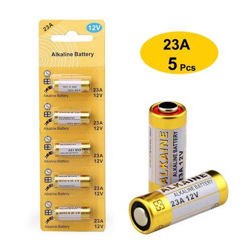 5 Baterias Pila 23A Control