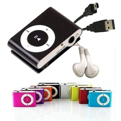 Reproductor Mp3 Clip Audifonos Cable