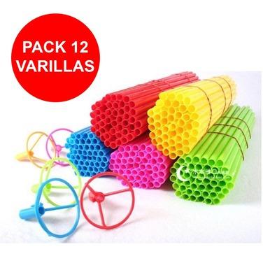 Pack 12 Varillas Varitas Palos Globos