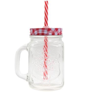 Jarros Mug Vidrio Ice Cold Drink Jars Vasos