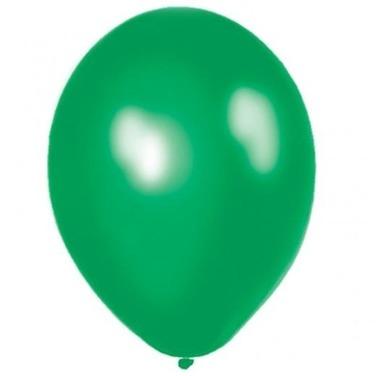 Pack 100 Globos Perlados Latex Verdes Cumpleaños Cotillón