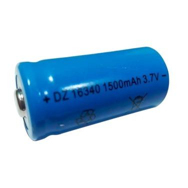 Pack 10 Pilas Bateria 16340 Recargable 1500mah