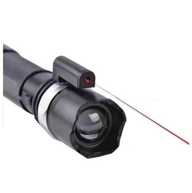 Linterna Laser Tactica Recargable