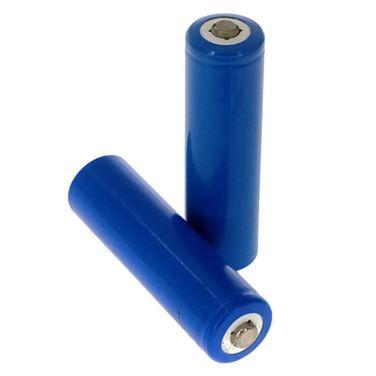 Pack 2 Pilas Baterias 14500 3.7v Li-ion 1500 Mah Linterna