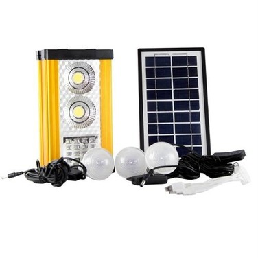 Kit Solar Fotovoltaico Led Outdoor Recargable