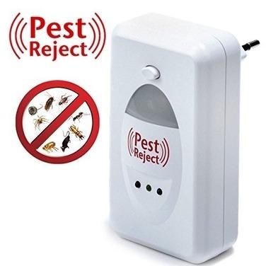 Repelente Electrónico Ratones Insectos Zancudos Ultra Sonido