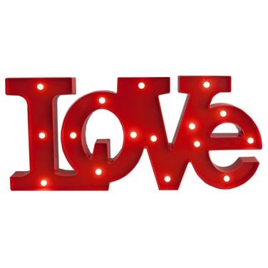 Lampara Led Figura Decoración Love Enamorados Amor