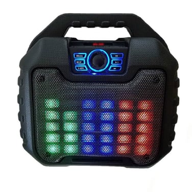 Parlante Portatil Anti Golpe Bluetooth Karaoke