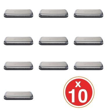 10 Power Bank Mini Batería Portátil Espejo