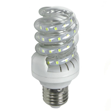 6 Pack Ampolletas Led Espiral 5w