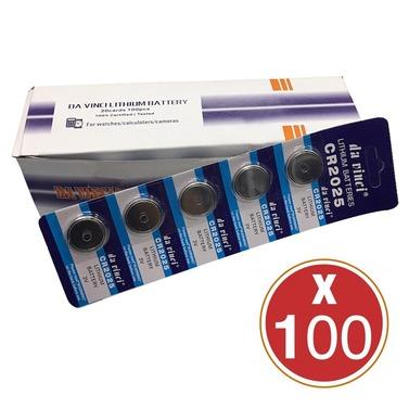 Caja De 100 Pilas 2025 3v