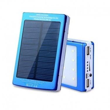 Cargador Solar 20000mah Bateria Linterna Led