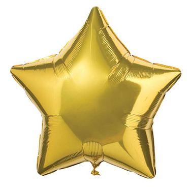 12 Globos de estrellas Metalizados