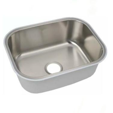 Lavaplatos Bajo Cubierta Simple Sin Secador Embutido 39x36cm