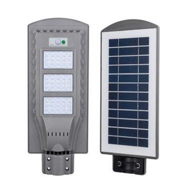 Lámpara solar de 60 W para exteriores, LED con tubo base