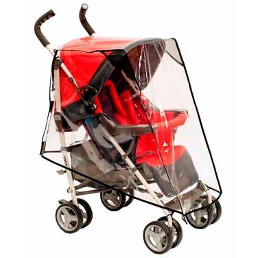 cobertor funda cubre coche para bebe transparente universal