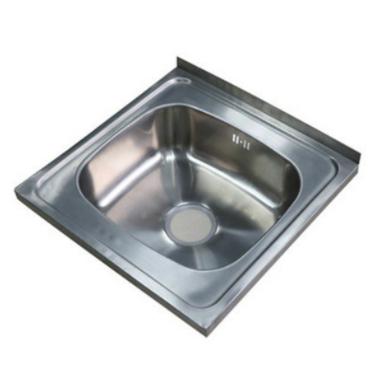Lavaplatos Sobreponer Fondo Simple, 40x50CM.