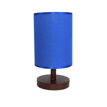 Lámpara Velador Pequeña Madera