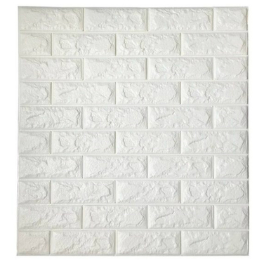 Pack 10 Lamina Papel Mural Pared 3d Ladrillo