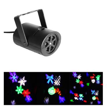 Proyector RGB Led Navidad
