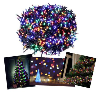 Luces Navidad 100 Led Multicolor