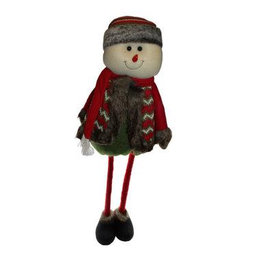Muñeco De Nieve Peluche Decoracion Navidad Grande