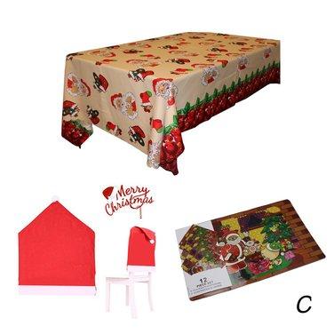 Juego decoración 19 piezas Navidad