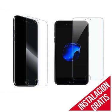 Mica Vidrio Templado iPhone 6/7/8 Plus protección Seguridad