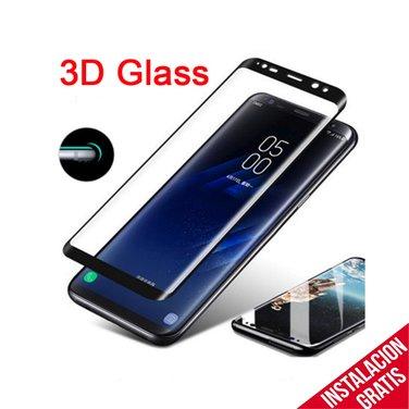 Mica Vidrio Curvo Templado Samsung S8  protección Seguridad