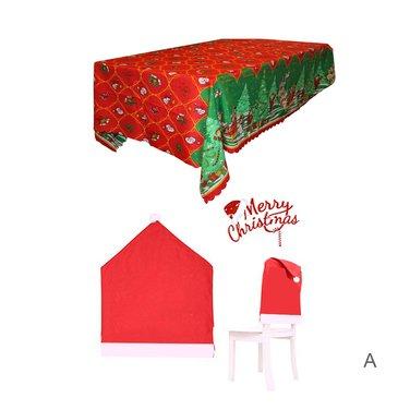 Set Juego decoración 7 piezas Navidad