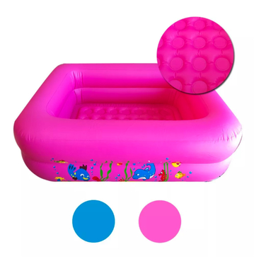 Piscina Inflable Rectangular 120cm Niños