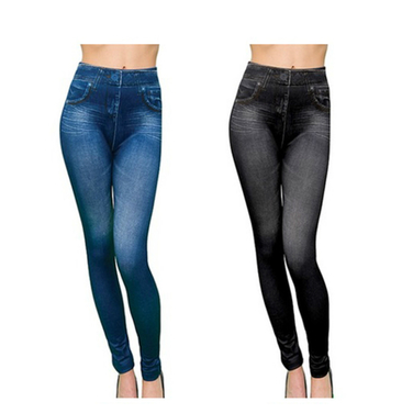 Pack 4 Calzas Slim N Lift Caresse Jeans