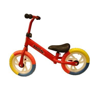 Bicicleta Equilibrio Niños Sin Pedales Rojo
