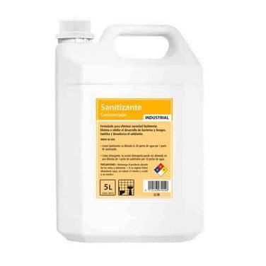 Sanitizante Industrial Bidon 5 Lts Elimina Virus