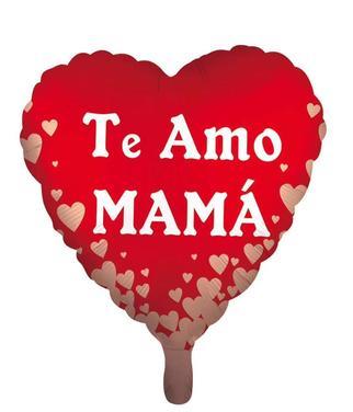 12 Globos Metalizados Dia De La Madre Mama