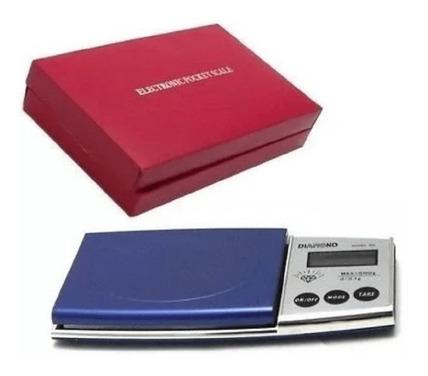 Gramera Digital De Bolsillo Pesa Digital Diamont 0.1/500gr