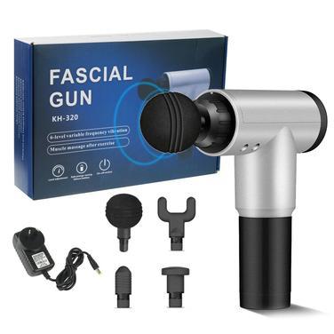 Pistola Masaje Muscular 4 Accesorios