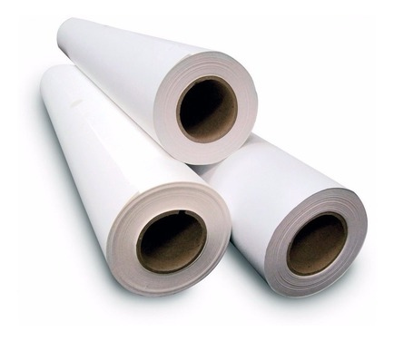 Papel Bond Rollo 61 Cm X 50 Mts 80 Grs