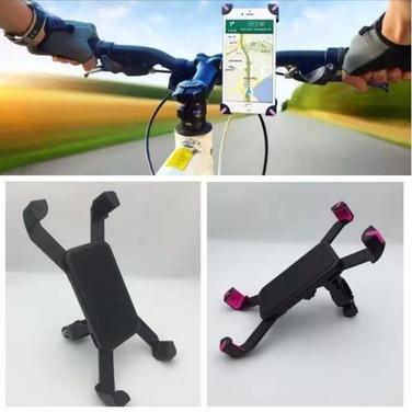 Soporte Porta Celular Holder Moto Bicicletas