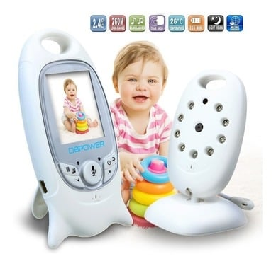 Camara Monitor Bebe Micrófono Visión Nocturna Envío Gratis