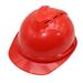 Casco De Trabajo Rojo Emergencia Protección
