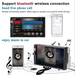 Radio Auto Doble Din Bluetooth Touch Mp5 Mirror Link + Camara De Regalo
