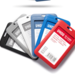 Pack12 Porta Credencial PVC + Cinta