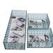 Set 3 Organizadores Rectangular Acrilico Multifuncion