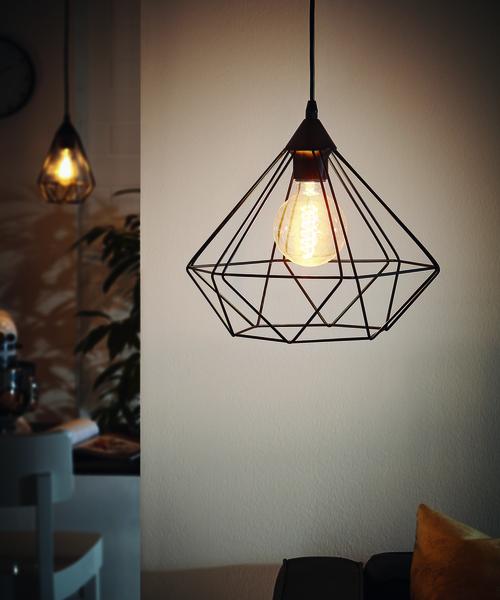 Lámpara Colgante Tarbes DM325 Negra