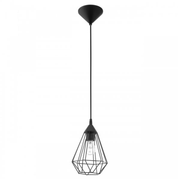 Lámpara Colgante Tarbes DM175 Negra